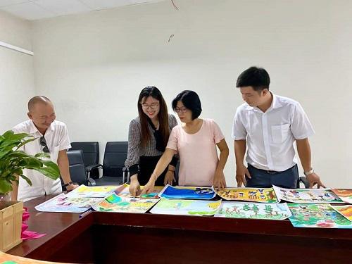 """Cuộc thi """"Đại sứ Văn hóa đọc"""" và Hội thi Nét vẽ mùa xuân năm 2020 tại Kiên Giang - Ảnh 1."""