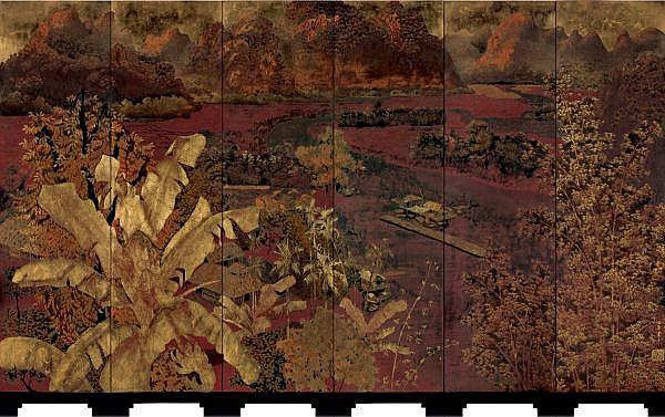 Vẻ đẹp thanh bình của thiên nhiên trong tranh sơn mài của Phạm Hậu - Ảnh 2.