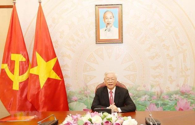 Quan hệ hợp tác giữa Việt Nam- Campuchia không ngừng được củng cố và phát triển sâu rộng  - Ảnh 1.