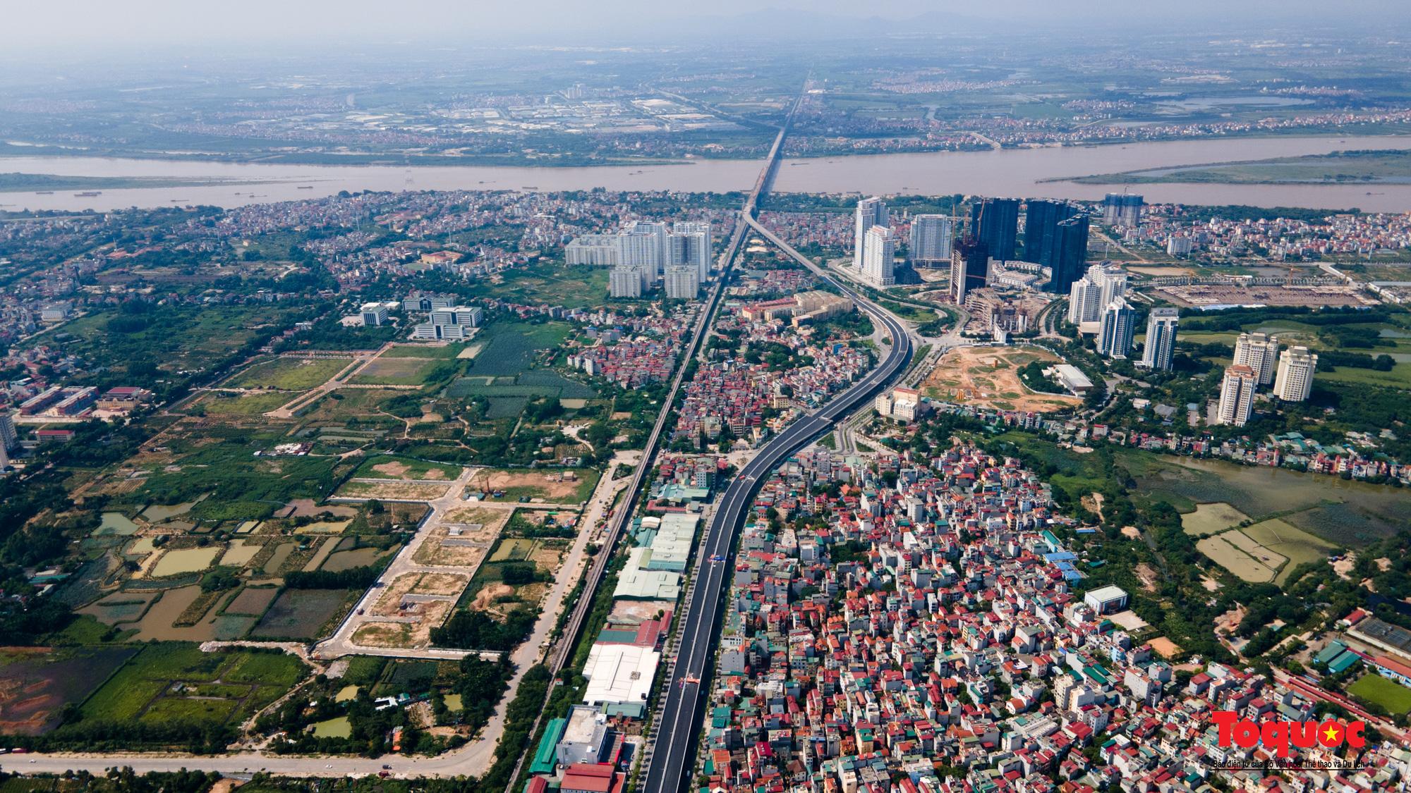Toàn cảnh Đường vành đai 3 trên cao đoạn Mai Dịch – cầu Thăng Long - Ảnh 12.
