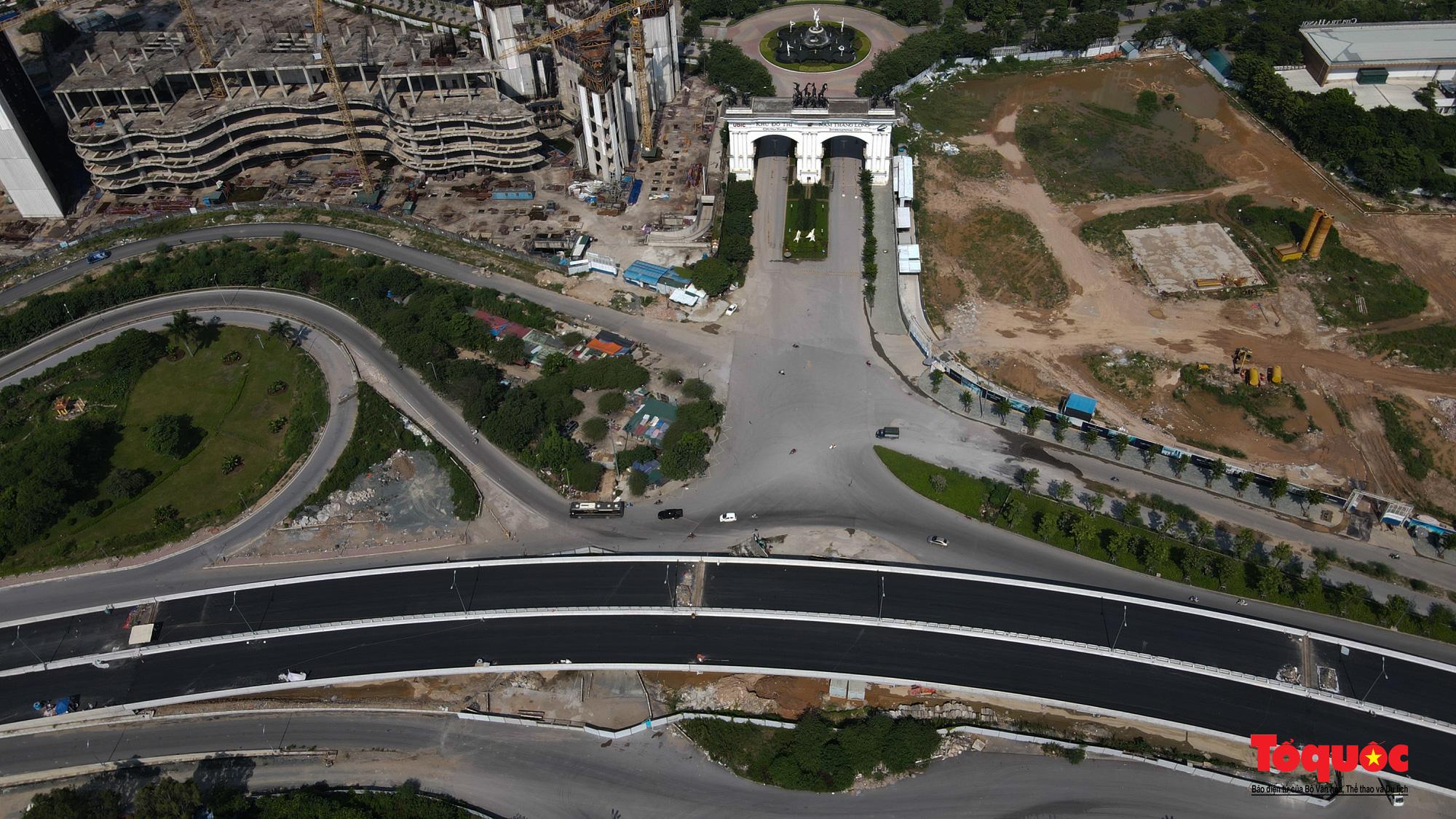 Toàn cảnh Đường vành đai 3 trên cao đoạn Mai Dịch – cầu Thăng Long - Ảnh 13.
