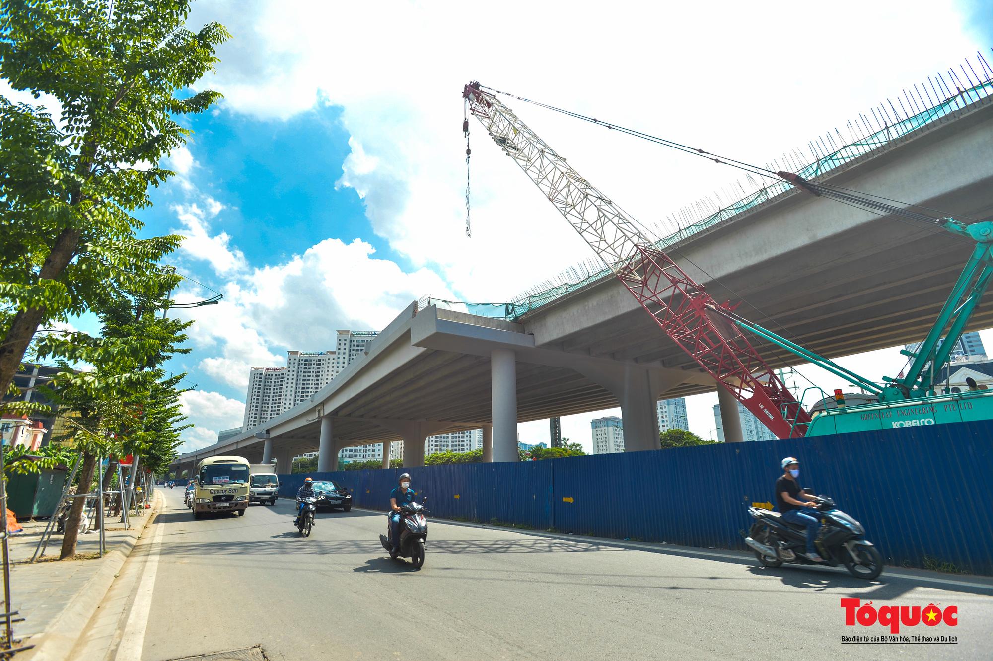 Toàn cảnh Đường vành đai 3 trên cao đoạn Mai Dịch – cầu Thăng Long - Ảnh 4.