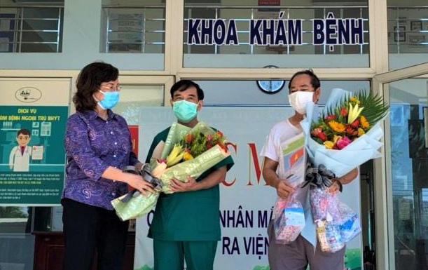 Bệnh nhân Covid-19 cuối cùng ở Đà Nẵng khỏi bệnh và xuất viện - Ảnh 2.