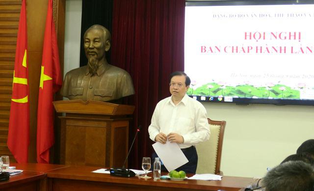 Hội nghị lần thứ 2, BCH Đảng Bộ Bộ Văn hóa, Thể thao và Du lịch - Ảnh 1.