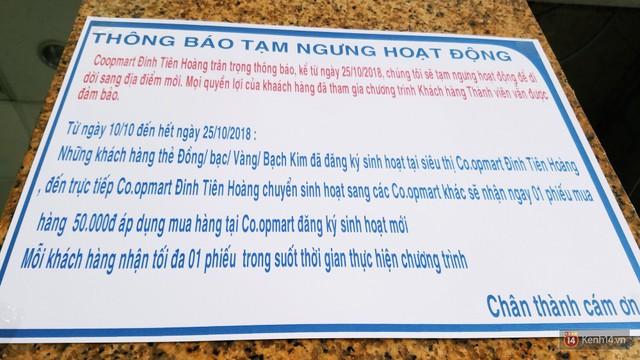 Co.op Mart Đinh Tiên Hoàng ngưng hoạt động sau gần 20 năm, người Sài Gòn tiếc nuối đến nhìn lại lần cuối - Ảnh 9.