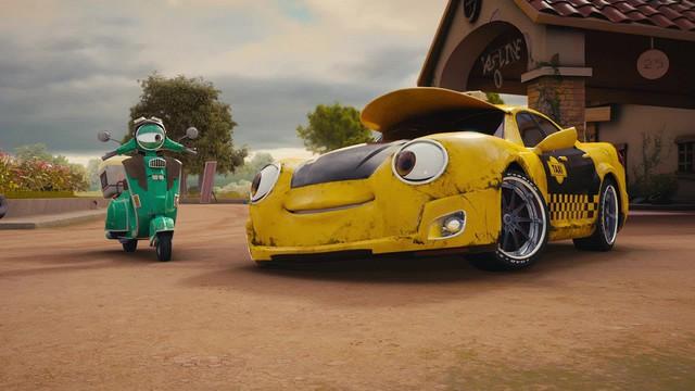 Siêu xe đại chiến: Phim hoạt hình dành cho các bé mùa Halloween - Ảnh 2.