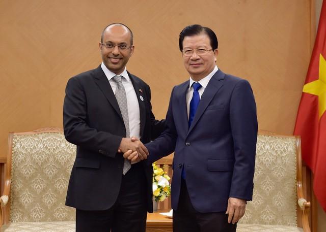 Phó Thủ tướng Trịnh Đình Dũng tiếp Tập đoàn Dầu khí Mubadala - Ảnh 1.
