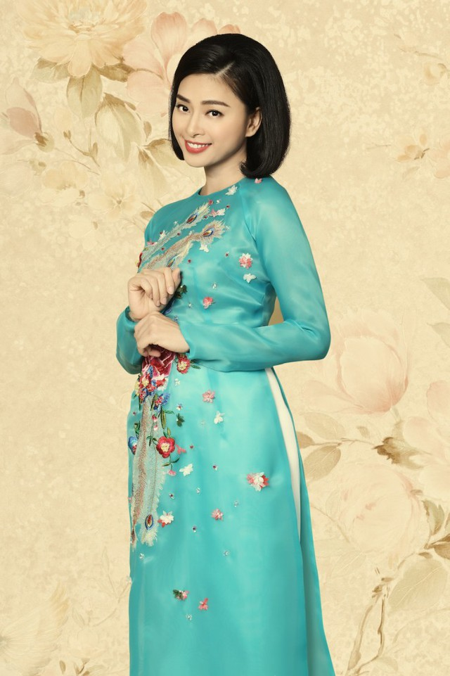 Rũ bỏ hình ảnh đả nữ, Ngô Thanh Vân trẻ trung trong tà Áo dài Việt - Ảnh 1.
