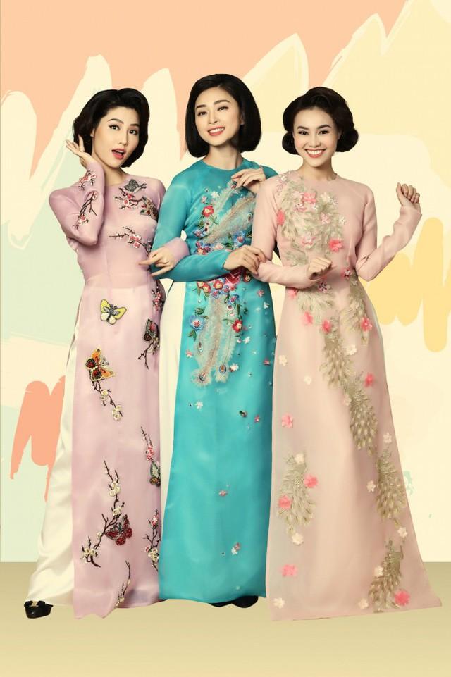 Rũ bỏ hình ảnh đả nữ, Ngô Thanh Vân trẻ trung trong tà Áo dài Việt - Ảnh 2.