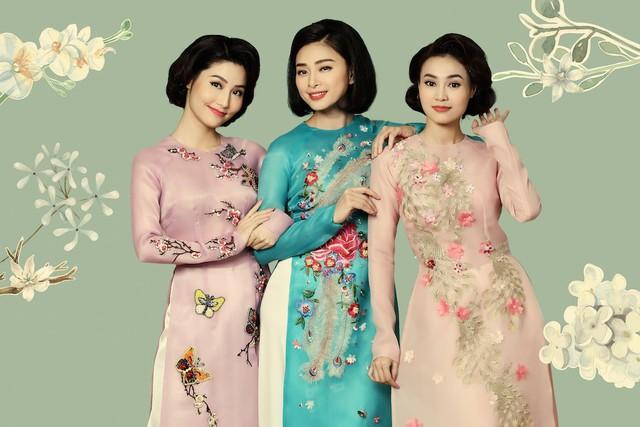 Rũ bỏ hình ảnh đả nữ, Ngô Thanh Vân trẻ trung trong tà Áo dài Việt - Ảnh 3.