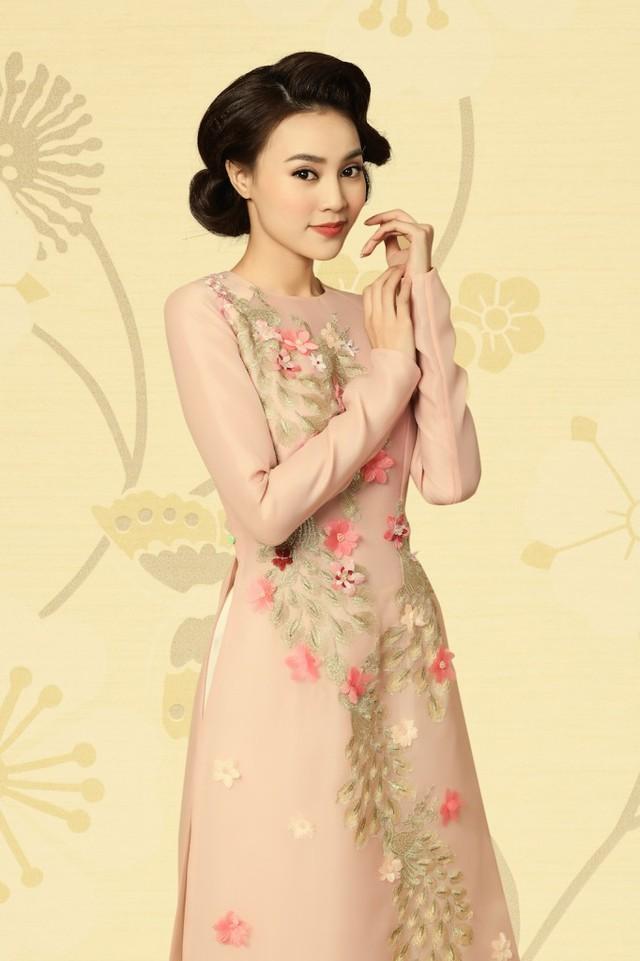 Rũ bỏ hình ảnh đả nữ, Ngô Thanh Vân trẻ trung trong tà Áo dài Việt - Ảnh 4.