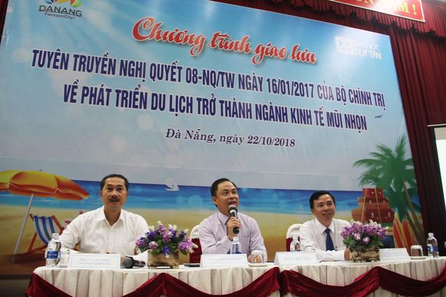 Đà Nẵng: Tuyên truyền Nghị quyết 08 của Bộ Chính trị về phát triển Du lịch đến sinh viên chuyên ngành - Ảnh 1.