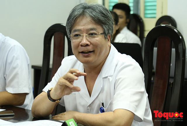 Bệnh viện Việt Đức lên tiếng về tình trạng cò máu hoành hành - Ảnh 1.