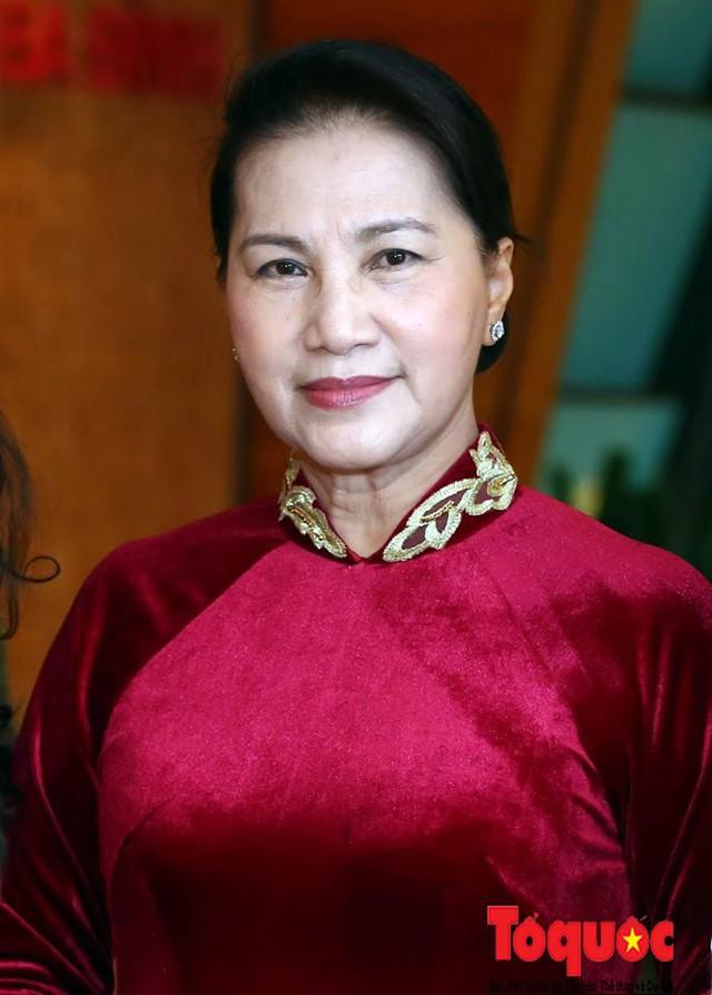 Chủ tịch Quốc hội Nguyễn Thị Kim Ngân đạt phiếu tín nhiệm cao nhất - Ảnh 2.