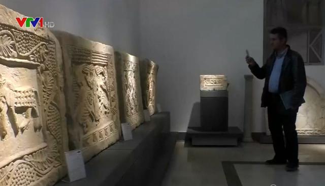 Sau 6 năm đóng cửa, Bảo tàng quốc gia Syria bắt đầu đón khách tham quan - Ảnh 1.