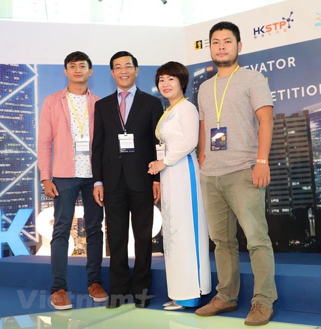 Thí sinh Việt Nam tỏa sáng cuộc thi khởi nghiệp hàng đầu thế giới tại Hong Kong - Ảnh 1.