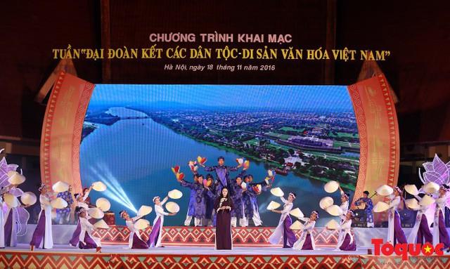 Nhiều hoạt động đặc sắc tại Tuần Đại đoàn kết các dân tộc - Di sản văn hóa Việt Nam - Ảnh 1.