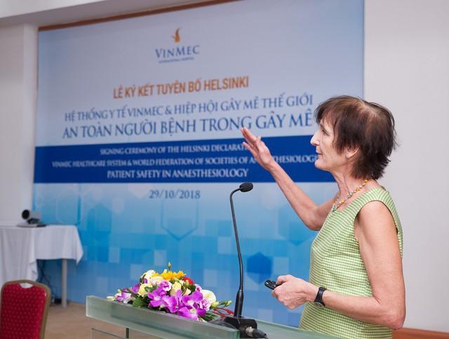 Vinmec hướng đến mục tiêu bệnh viện an toàn nhất Đông Nam Á về gây mê phẫu thuật - Ảnh 1.