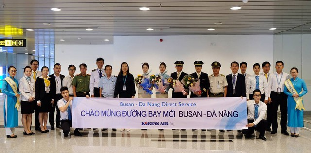 Khai trương đường bay Busan – Đà Nẵng - Ảnh 1.
