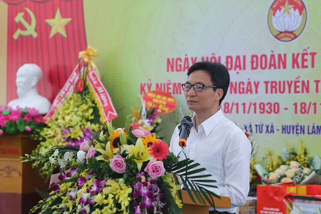 Phó Thủ tướng Vũ Đức Đam làm việc tại tỉnh Phú Thọ - Ảnh 1.