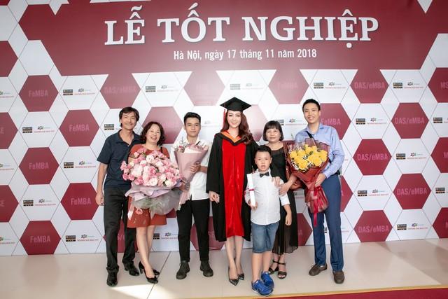 Sau 2 năm đèn sách, cuối cùng Á hậu Thụy Vân đã hái quả ngọt – tấm bằng MBA - Ảnh 4.