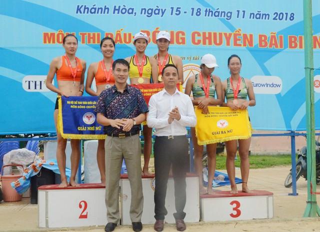 Bóng chuyền bãi biển: Khánh Hòa độc chiếm ngôi đầu tại Đại hội Thể thao toàn quốc lần thứ 8 - Ảnh 1.