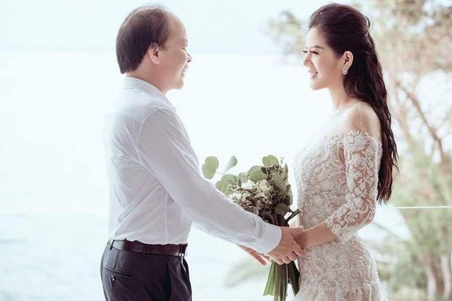 Ảnh cưới đầy mộng mơ khiến nhiều người ngưỡng mộ của ca sĩ Đinh Hiền Anh và chồng hơn 17 tuổi - Ảnh 2.