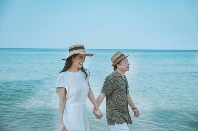 Ảnh cưới đầy mộng mơ khiến nhiều người ngưỡng mộ của ca sĩ Đinh Hiền Anh và chồng hơn 17 tuổi - Ảnh 7.