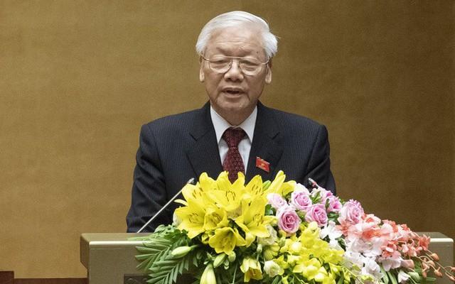 Chủ tịch nước Nguyễn Phú Trọng trình Quốc hội thông qua Hiệp định CPTPP  - Ảnh 1.