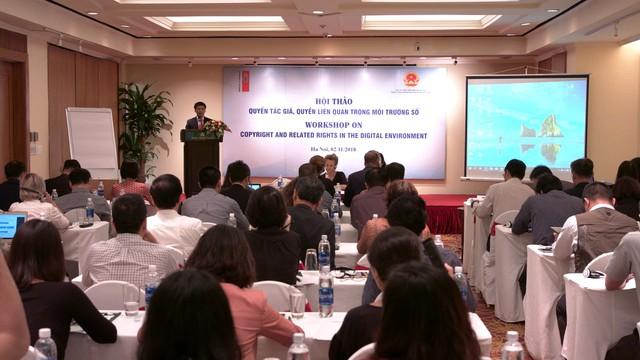 Luật về quyền tác giả, quyền liên quan của Việt Nam từng bước hoàn thiện - Ảnh 1.