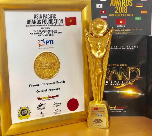 PTI vinh dự nhận giải thưởng thương hiệu xuất sắc thế giới - Ảnh 1.