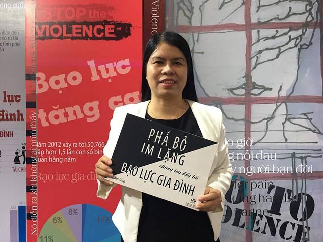 Phá bỏ im lặng chung tay đẩy lùi bạo lực gia đình - Ảnh 1.