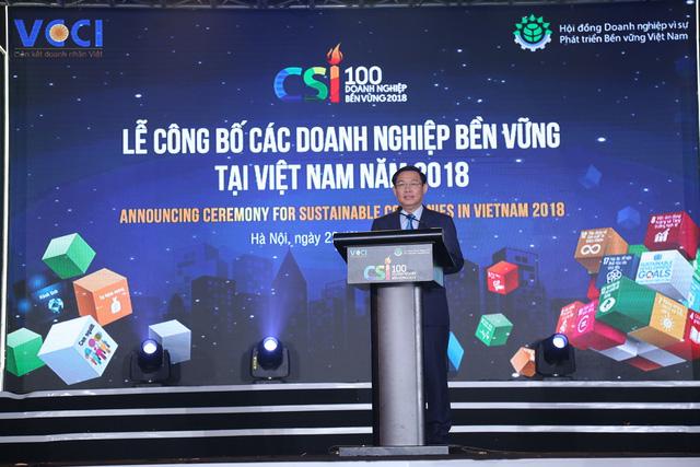 Phó Thủ tướng Vương Đình Huệ: Chính phủ cam kết luôn luôn đồng hành và phục vụ cộng đồng doanh nghiệp - Ảnh 1.