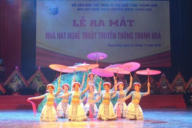 Ra mắt Nhà hát Nghệ thuật truyền thống Thanh Hóa - Ảnh 1.