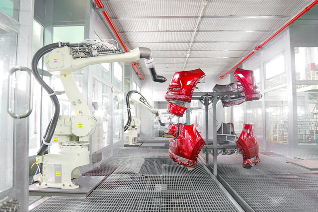Ô tô Trường Hải: Đẩy mạnh tự động hóa trong sản xuất tại các nhà máy công nghiệp hỗ trợ - Ảnh 1.