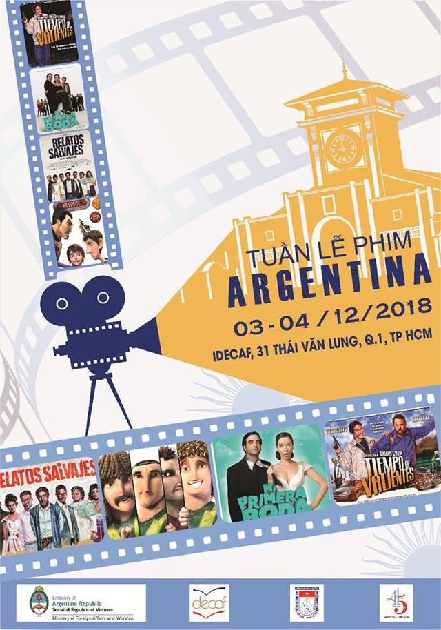 Thưởng thức ẩm thực và những bộ phim đặc sắc của Argentina tại TP Hồ Chí Minh - Ảnh 1.