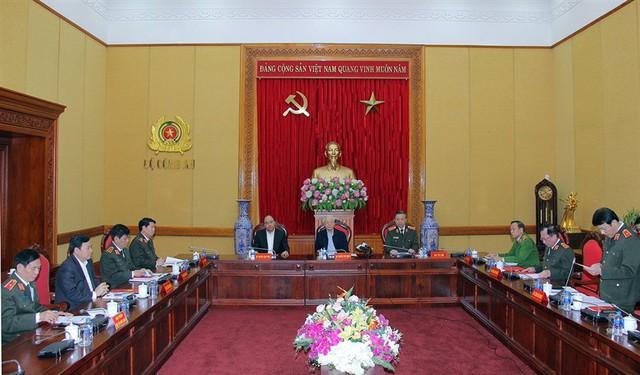 Tổng Bí thư, Chủ tịch nước: Bộ Công an là điểm sáng về tinh gọn bộ máy, tinh giản biên chế - Ảnh 1.