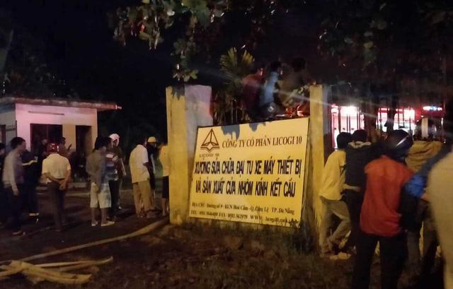 Cháy lớn tại Khu công nghiệp Hòa Cầm - Ảnh 2.