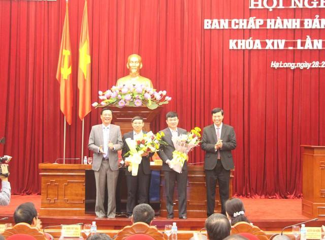 Quảng Ninh có 2 Phó Bí thư Tỉnh ủy mới - Ảnh 1.