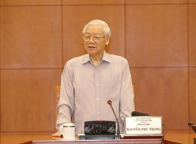 Tổng Bí thư, Chủ tịch nước Nguyễn Phú Trọng: Không quy hoạch cho nhiều khóa, mà chỉ tập trung cho khóa tới (2021-2026) - Ảnh 1.