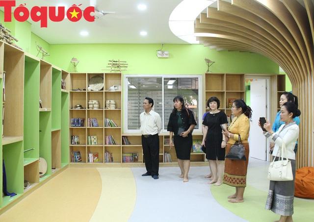 Việt Nam - Lào: Trao đổi kinh nghiệm về lĩnh vực thư viện - Ảnh 2.