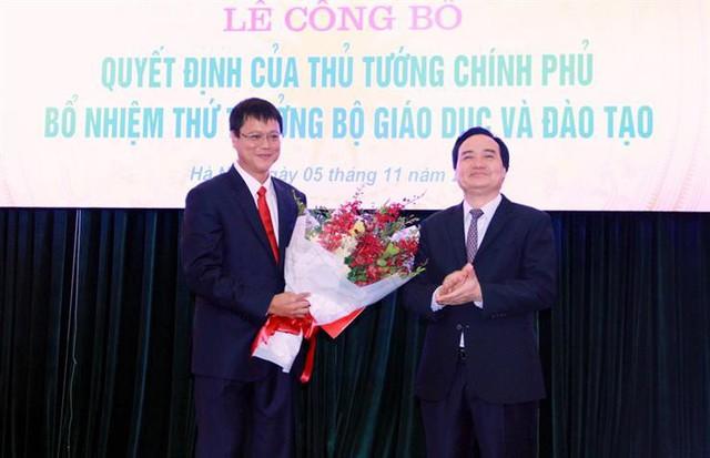 PGS.TS Lê Hải An chính thức giữ chức Thứ trưởng Bộ Giáo dục và Đào tạo - Ảnh 1.