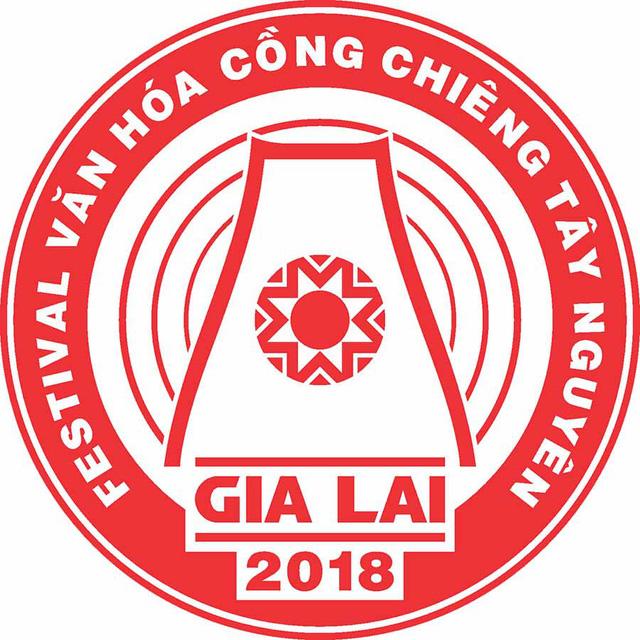 Phát hành logo Festival văn hóa cồng chiêng Tây Nguyên tại Gia Lai năm 2018 - Ảnh 1.