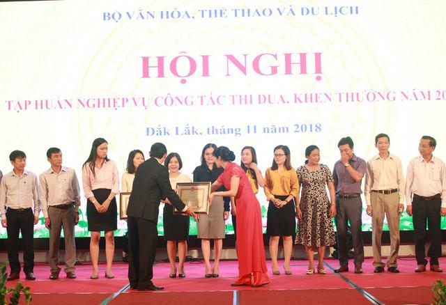 Hội nghị tập huấn công tác thi đua, khen thưởng năm 2018 của Bộ Văn hóa, Thể thao và Du lịch - Ảnh 3.
