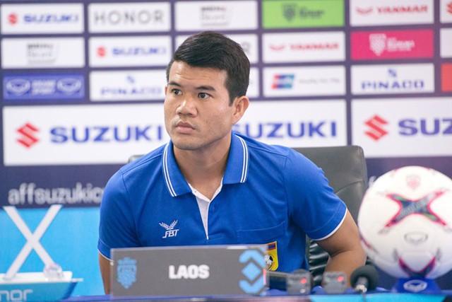 Thủ quân Lào: Tôi là cổ động viên của đội tuyển Việt Nam - Ảnh 1.