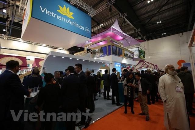 Sản phẩm du lịch Việt Nam thu hút sự quan tâm của khách tham dự Hội chợ du lịch thế giới  - Ảnh 1.
