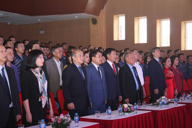 Hà Nội xuất quân tham dự Đại hội Thể thao toàn quốc lần thứ VIII: Quyết tâm giành ngôi đầu - Ảnh 1.