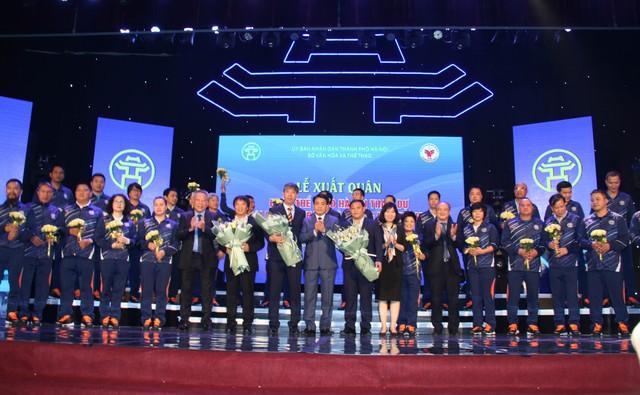 Hà Nội xuất quân tham dự Đại hội Thể thao toàn quốc lần thứ VIII: Quyết tâm giành ngôi đầu - Ảnh 2.