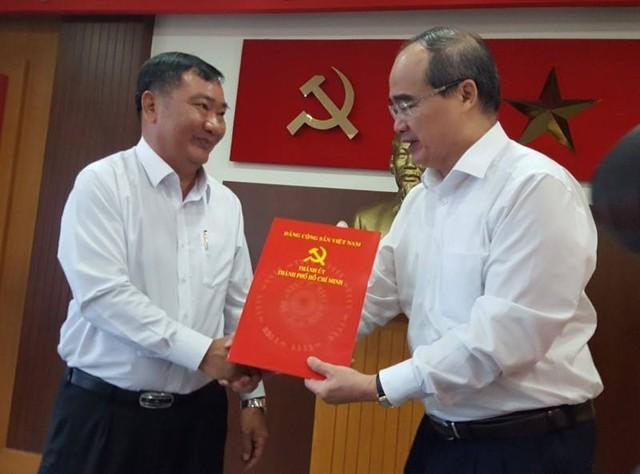 Điều động Phó trưởng Ban Nội chính Thành ủy TP HCM giữ chức Bí thư quận 2 - Ảnh 1.