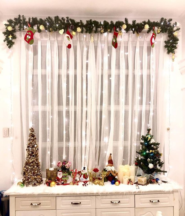 Cùng nghía qua những căn hộ tiền tỷ của sao Việt được trang hoàng lộng lẫy đón Giáng sinh - Ảnh 6.
